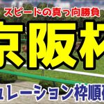 2020 京阪杯 シミュレーション 枠順確定【競馬予想】
