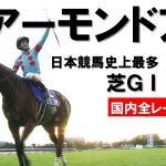 【アーモンドアイ引退】日本競馬史上最多!芝GⅠ全9勝まとめ
