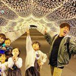 【都内】キラキラ世界にみんな大感動!【東京メガイルミ@大井競馬場】