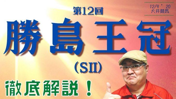 【田倉の予想】第12回 勝島王冠(SII)徹底解説!