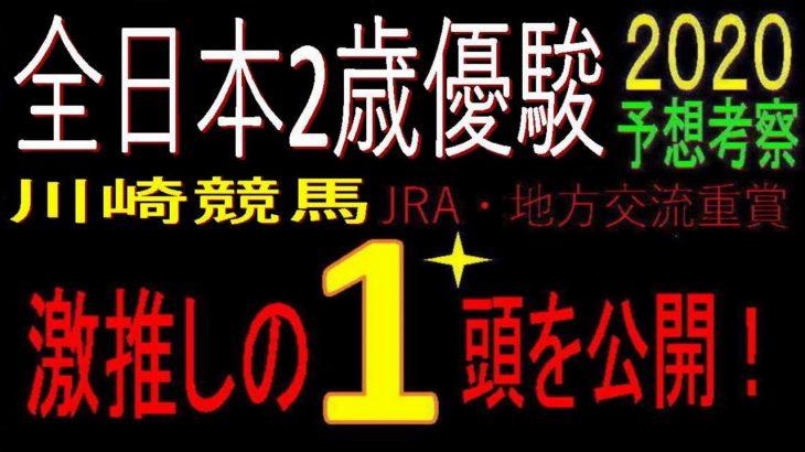 全日本2歳優駿2020(川崎競馬)消去法予想 激推し1頭公開!