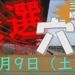 【厳選穴馬】1月9日(土)中央競馬より厳選4頭!!【三夜連続SP】#競馬#keiba#競馬予想