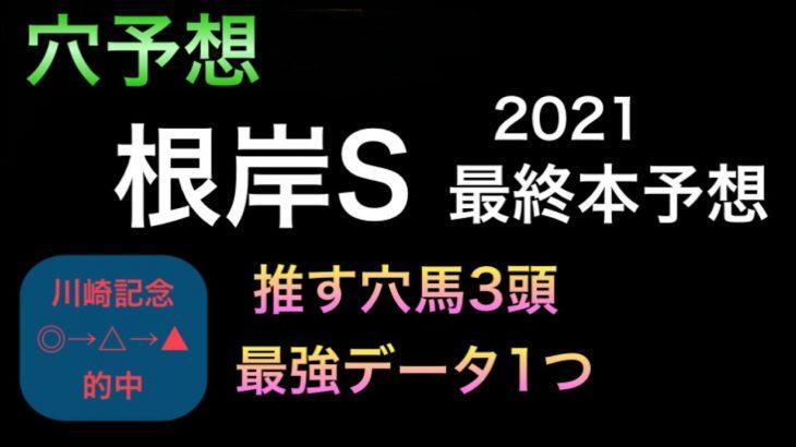 【競馬予想】 根岸ステークス 2021 本予想