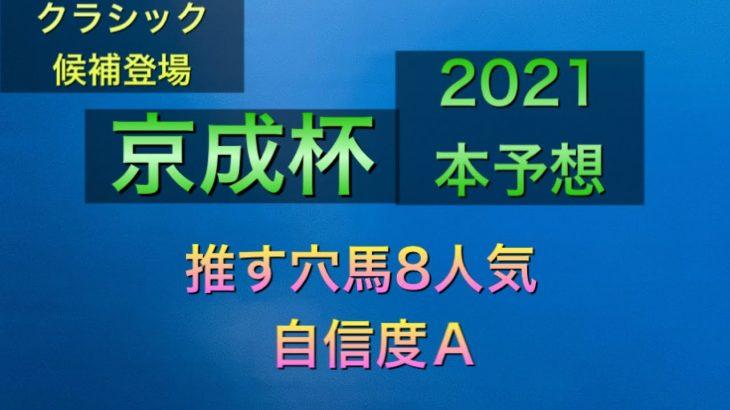 【競馬予想】 京成杯 2021 本予想
