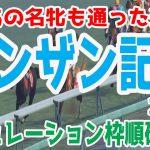 2021 シンザン記念 シミュレーション 枠順確定 【ウイニングポスト9 2020】【競馬予想】
