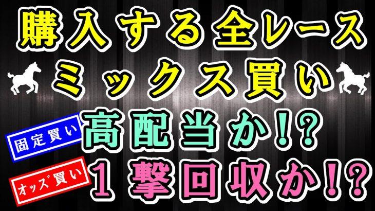 【JRA競馬攻略】全レース「ミックス買い」高配当か!?1撃回収か!?それとも…  2021.1/10 中山競馬 中京競馬 JRA
