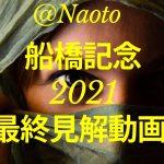 【船橋記念2021】予想実況【Mの法則による競馬予想】