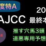 【競馬予想】 アメリカジョッキークラブカップ AJCC 2021 本予想