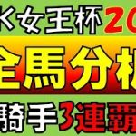 【地方競馬】TCK女王盃2021 予想