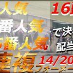 【競馬】1番人気・14番人気・5番人気で決着!配当は?【JRAに勝つ】
