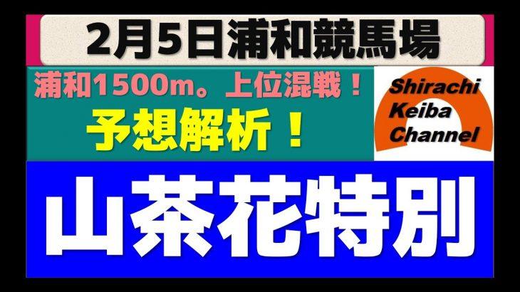 【競馬予想】山茶花特別2020年2月5日 浦和競馬場
