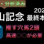 【競馬予想】 中山記念 2021 最終本予想