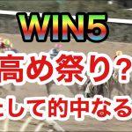 【競馬】WIN5で高め祭り⁈的中なるか⁈果たして結果は?