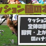 【競馬予想に役立つクッション値のハナシ vol1】基本データ、脚質と上がり3F編