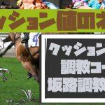 【競馬予想に役立つクッション値のハナシ vol2】調教コースと坂路調教編
