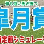 2021 皐月賞 シミュレーション【競馬予想】枠順確定前