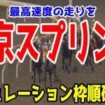 2021 東京スプリント シミュレーション 枠順確定【競馬予想】地方競馬