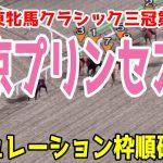2021 東京プリンセス賞 シミュレーション 枠順確定【競馬予想】地方競馬