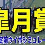 2021 皐月賞 シミュレーション【ウイニングポスト9 2020】【競馬予想】枠順確定前