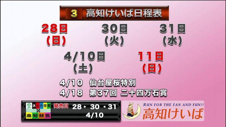 高知けいば中継 2021/03/31