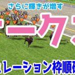 オークス2021 枠順確定後シミュレーション 【競馬予想】ソダシ