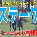 葵ステークス2021 枠順確定後シミュレーション 【競馬予想】