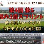 2021/5/29 第4回 葵ステークス  他 中京 5レースより頑張って全力実況配信