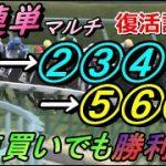 【競馬検証】3連単マルチ①-②③④-⑤⑥⑦人気で的中率、回収率を検証してみた。