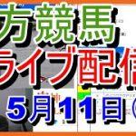 【競馬ライブ】地方競馬配信 ★ 先生の指数を参考に予想 5月11日(火)金沢・水沢・浦和