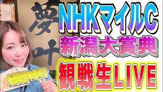 【生配信】NHKマイルC 新潟大賞典本気の競馬予想🐴