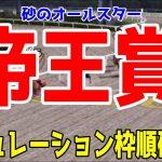 帝王賞2021 枠順確定後シミュレーション【競馬予想】地方競馬 オメガパフューム チュウワウィザード