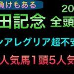 【競馬予想】 安田記念 2021 全頭診断 事前予想