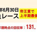 競馬予想 2021年6月30日の勝負レース 帝王賞