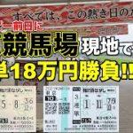 日本ダービー前日に東京競馬場で3連単18万円勝負した結果