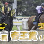 【船橋競馬】第44回 帝王賞 追い切り【ドローン】
