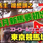 【競馬・馬主】新人馬主福盛訓之なんと‼️6月新馬戦初出走東京競馬場🏇 いい馬みつけ旅(Vol066)
