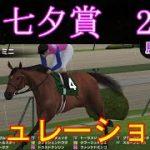 【競馬】G3 七夕賞 2021 シミュレーション 天候『雨』 馬場状態『稍重』