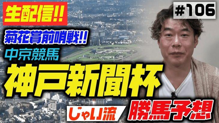 #106【中京競馬】神戸新聞杯でのじゃいの思考【勝ち馬予想】