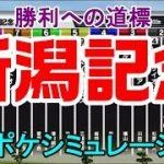 新潟記念2021 枠順確定後シミュレーション 【スタポケ】【競馬予想】