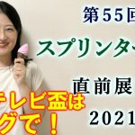 【競馬】スプリンターズステークス 2021 直前展望(船橋の日本テレビ盃はブログで予想!)ヨーコヨソー