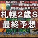 【競馬予想】札幌2歳ステークス2021 最終予想 小頭数のときは紛れがある!? ディアドラの弟や前走好時計の馬だったり素直に決まるか…それとも