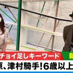 【新潟記念】森香澄アナのチョイ足しキーワード「470kg以上 、6歳以上は苦戦、菅原騎手・津村騎手」