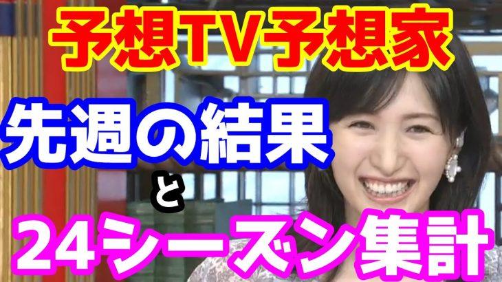 【競馬予想TV】 24シーズン第一週集計 【プロに挑戦!!】