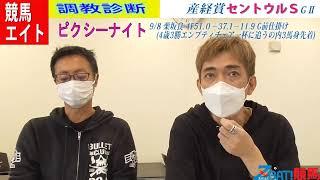 【競馬エイト調教診断】産経賞セントウルS(高橋賢&籔本)