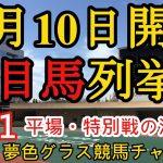 【注目馬列挙】2021年10月10日JRA平場特別戦!土曜日は12頭中7頭が馬券内に!