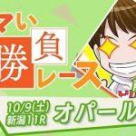 【オパールS 予想】堅いレースより波乱のレース!!期待の穴馬候補!!