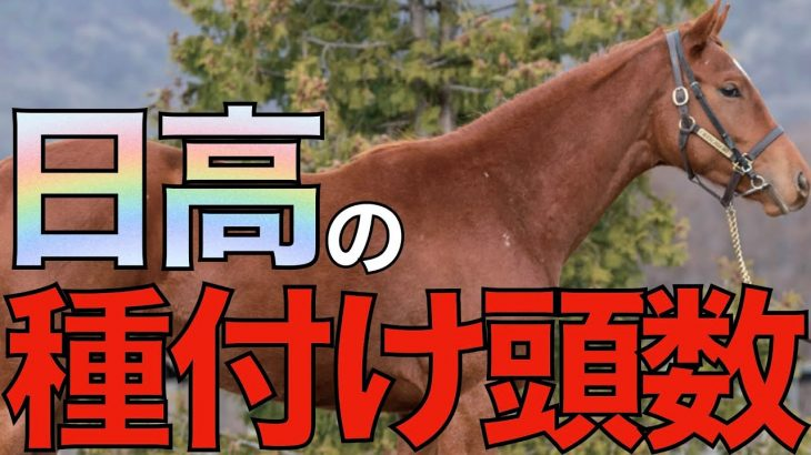 【優駿が熱い】今年の種付け頭数を各スタリオンが発表中!日高で人気を集める種牡馬は。【競馬】